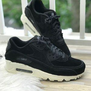 NWT Nike Air Max 90 LX Black WMNS